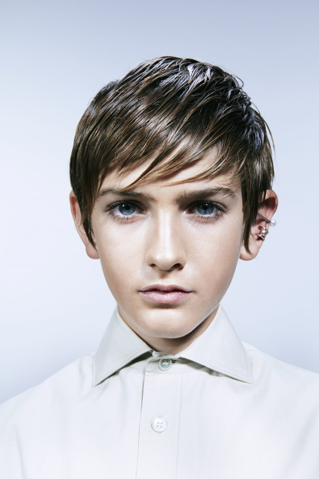 kids wear magazine hair make up Achim Lippoth