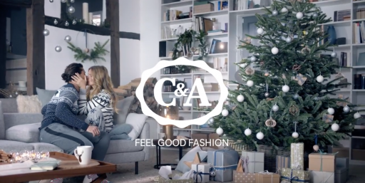 C&A Christmas #rockxmas hair and make up beauty fashion