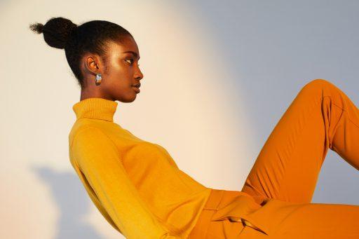 Esprit hair make up beauty fashion advertising skin shine